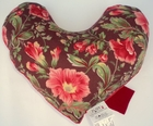 Blooming Hollyhocks Breast Cancer Mastectomy Large Underarm Pillow