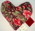 Blooming Hollyhocks Small Breast Cancer & Mastectomy Underarm Pillow