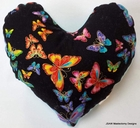 Butterflies for Freedom Small Breast Cancer & Mastectomy Underarm Comfort Pillow