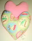 Cutie Pie Small Breast Cancer & Mastectomy Heart Shaped Underarm Pillow