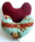 Flower Crown Jewels Breast Cancer/Mastectomy Large Comfort Pillow