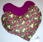 Garden Paradise (Purple) Breast Cancer/Mastectomy Large Comfort Pillow