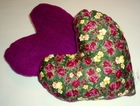 Garden Paradise (Purple) Small Breast Cancer & Mastectomy Underarm Comfort Pillow