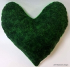 Green Shadows Small Breast Cancer & Mastectomy Underarm Comfort Pillow