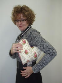 Mastectomy & Breast Cancer Heart Shaped Pillows