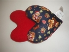 Merry Christmas Bear Small Breast Cancer & Mastectomy Underarm Pillow