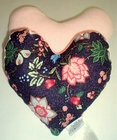 Midnight Flowers Small Breast Cancer & Mastectomy Underarm Comfort Pillow