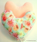 Painted Daisies Breast Cancer/Mastectomy Large Comfort Pillow