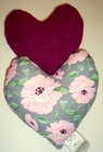 Peonies on Grey Small Breast Cancer & Mastectomy Underarm Comfort Pillow