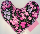 Pink Primrose Meadows Breast Cancer Mastectomy Large Underarm Pillow