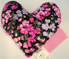 Pink Primrose Meadows Small Breast Cancer & Mastectomy Underarm Comfort Pillow
