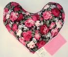 Pink Rose Bouquet Breast Cancer Mastectomy Large Underarm Pillow