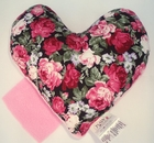 Pink Rose Bouquet Small Breast Cancer & Mastectomy Underarm Comfort Pillow