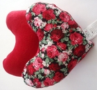 Red Roses Bouquet Breast Cancer/Mastectomy Large Comfort Pillow