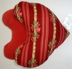 Ribbons and Roses Breast Cancer/Mastectomy Large Comfort Pillow