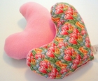 Spring Crocus (Pink) Breast Cancer Mastectomy Large Underarm Pillow
