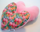 Spring Crocus (Pink) Small Breast Cancer & Mastectomy Underarm Comfort Pillow