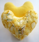 Spring Daffodil Breast Cancer Mastectomy Large Underarm Comfort Pillow