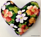 Strength in Flowers Small Breast Cancer & Mastectomy Underarm Comfort Pillow