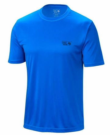Mountain Hardwear Mens Wicked Jersey Short Sleeve T Hyper Blue