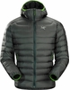 Arc'teryx Mens Cerium LT Hoody Nautic Grey