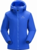 Arc'teryx Womens Atom LT Hoody Somerset Blue