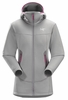 Arc'teryx Womens Arenite Hoody Brushed Nickel