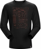 Arc'teryx Mens Tools Rule Long Sleeve T-Shirt Black