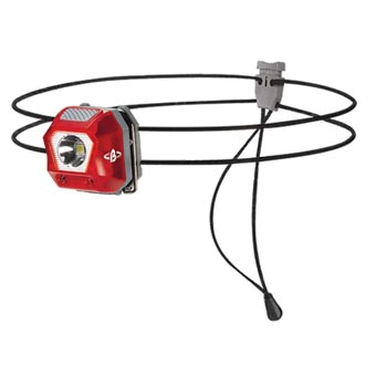 Beal L24 Headlamp Transparent Red