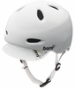 Bern Womens Berkeley Helmet With Visor Summer Gloss White