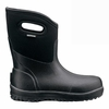 Bogs Mens Ultra Mid Insulated Boots Black