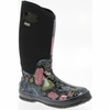 Bogs Womens Classic Winter Blooms Black