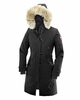 Canada Goose Womens Kensington Parka Black Medium