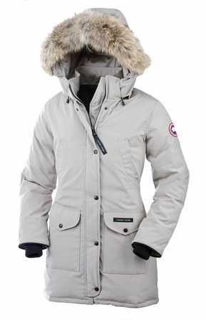 Canada Goose Womens Trillium Parka Light Grey (Autumn 2013)