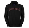Denison 1/4 Zip Black Sweatshirt