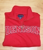 Denison 1/4 Zip Sweatshirt Red