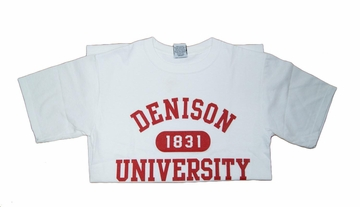 Denison 1831 T-Shirt White