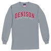 Denison Basic Grey Long Sleeve Tee Heather