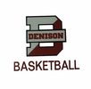 Denison Basketball Car Decal