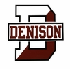 Denison Big D White Sticker