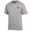 Denison Champion Lacrosse Arched Tee Oxford Grey