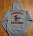 Denison Champion Swimming Hoodie Grey