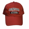 Denison Classic Alumni Hat Red