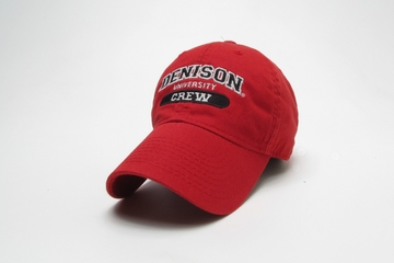 Denison Classic Crew Hat Red