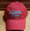 Denison Classic Field Hockey Hat Red
