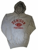 Denison Classic Fleece Hoodie Football Gray
