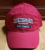 Denison Classic Football Hat Red