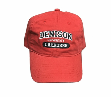 Denison Classic Lacrosse Hat Red