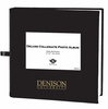 Denison Deluxe Collegiate Photo Album Black with Metallic Gold Imprint