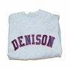 Denison Embroidered Crew Grey